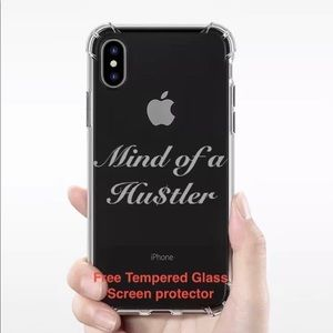 """Accessories - New """"Mind of a Hustler"""" iPhone XS or Iphone X case"""
